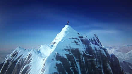 Everest peak snow-capped peak o achievement